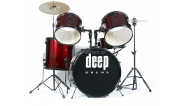 Perkusja Deep Drums DP101 Wine Red