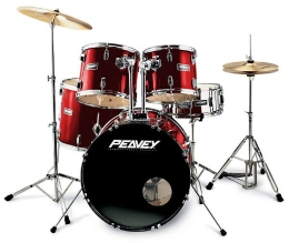 Perkusja PEAVEY PV 500 Metallic Wine Red